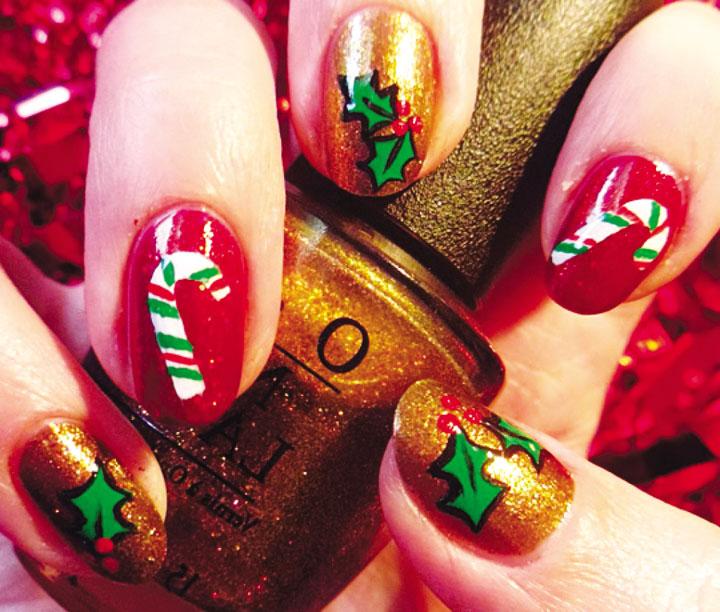 Móng tay đẹp đón Giáng sinh 23