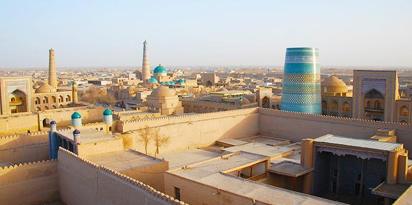 Ốc đảo Khiva - Báu vật trên con đường tơ lụa 7