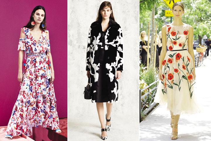 Kết quả hình ảnh cho Họa tiết hoa lá – cảm hứng thời trang hè tươi mới từ thiên nhiên