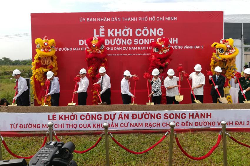 Khoi-cong-du-an-xay-dung-duong-song-hanh-tu-duong-mai-chi-tho-den-duong-vanh-dai-2-Tin-290417 ok