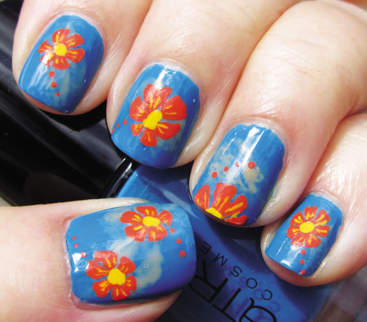 Vài kiểu móng tay độc đáo cho mùa hè 10