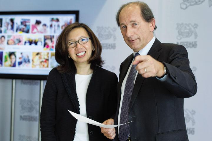 Bà Wan Ling Martello - Phó Chủ tịch Tập đoàn Nestle 1