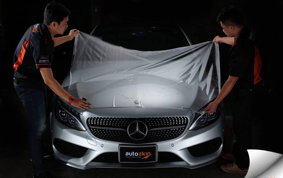 Dán phim Autozkin giải pháp bảo vệ sơn xe hạng sang và siêu xe |  DoanhnhanPlus.vn