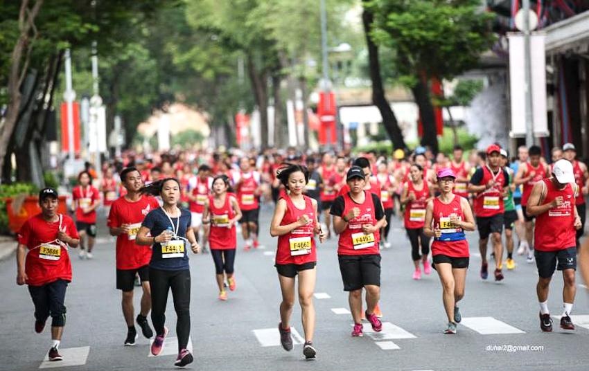 Kết quả hình ảnh cho Marathon Techcombank