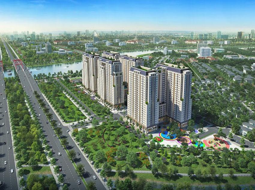 Công bố thông tin dự án Khu cao ốc ven sông Dream Home Riverside.