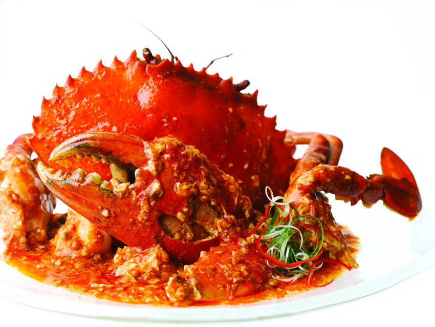 Đặc sản món Cua tại Jumbo Seafood Sài Gòn