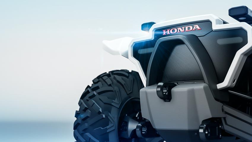 Honda se trinh lang bon loai robot moi tai CES 2018