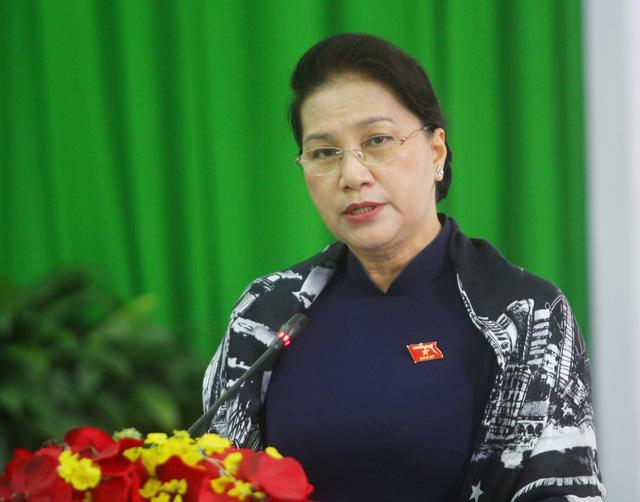Chủ tịch Quốc hội mừng cho đồng bằng sông Cửu Long