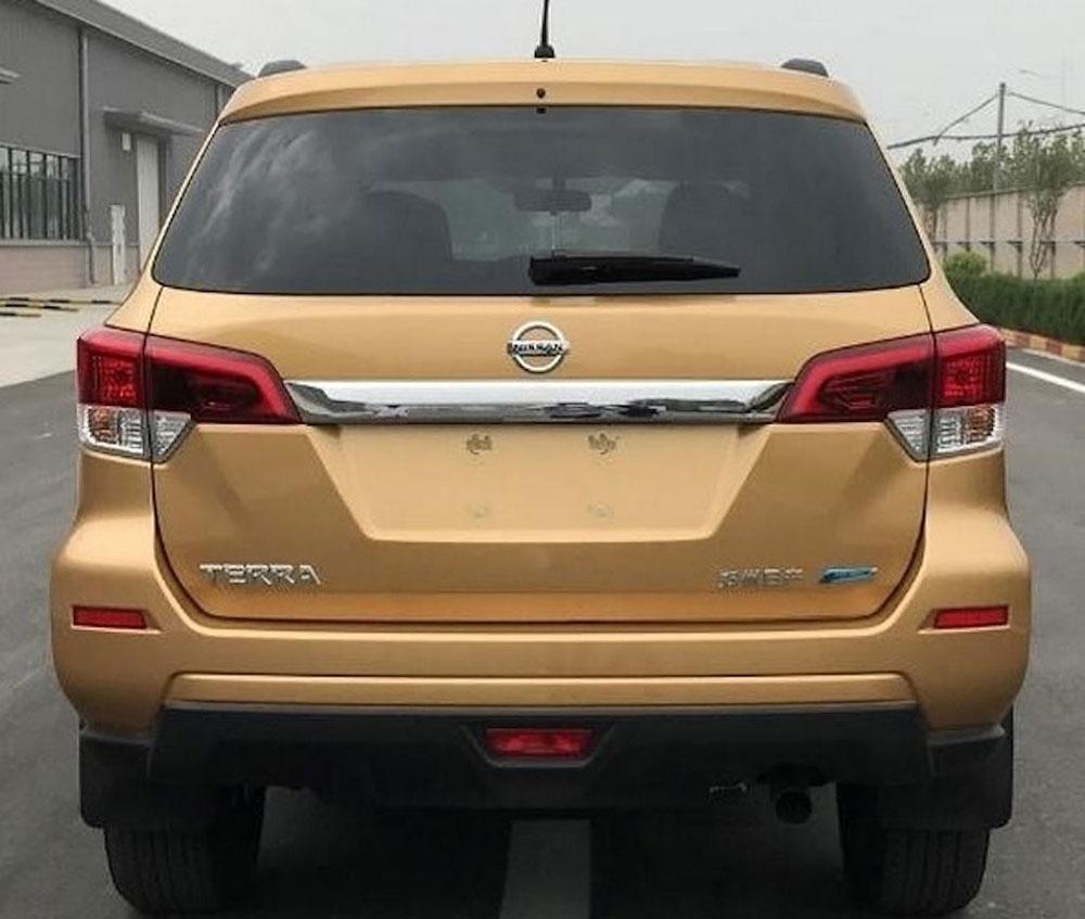 Nissan Terra lộ diện tại thị trường Trung Quốc.