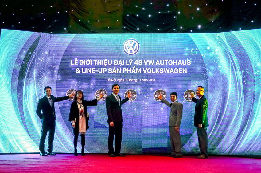 Volkswagen Việt Nam khai trương 4 đại lý chuẩn 4S trên toàn quốc