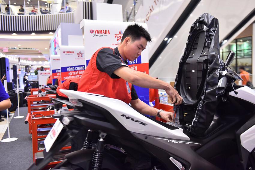 Năm 2017 doanh số xe tay ga Yamaha tăng 15%