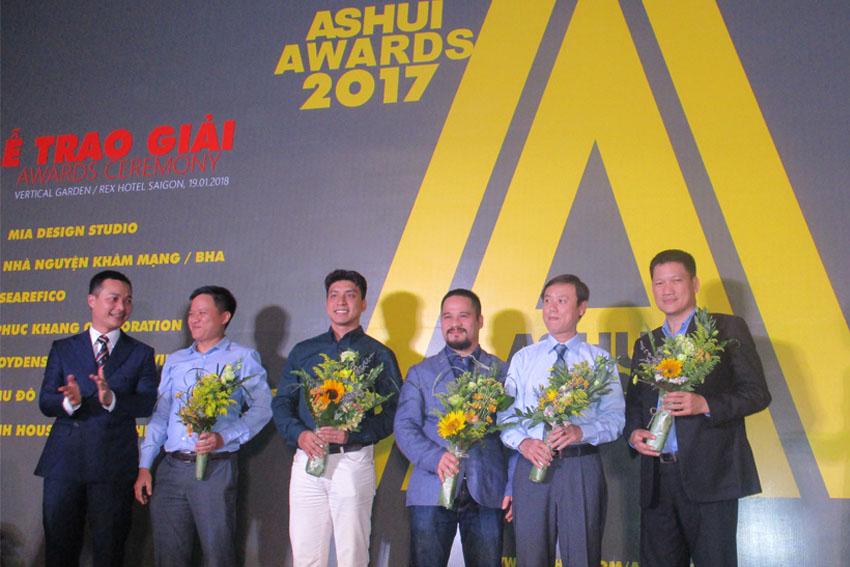 Thương hiệu Dulux đồng hành cùng chương trình Ashui Awards 2017