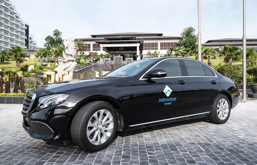 Duyên Hà Resort Cam Ranh nhận 16 xe Mercedes-Benz để đưa đón du khách