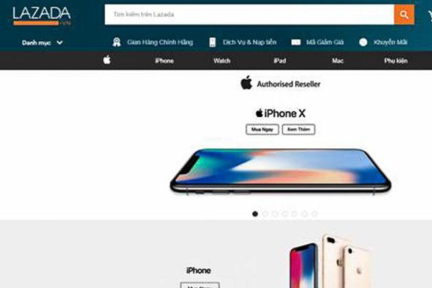 Lazada phân phối các sản phẩm Apple chính hãng tại Việt Nam từ ngày 5-1-2018