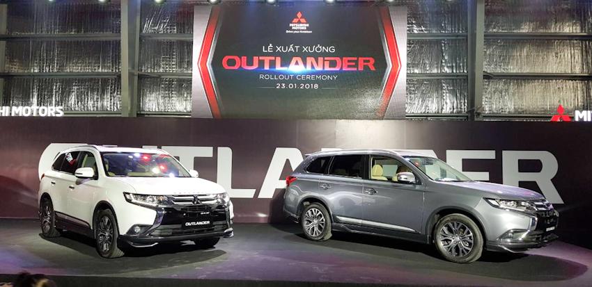 Chính thức ra mắt Mitsubishi Outlander 2018, lắp rắp trong nước, giá bán từ 808 triệu đồng