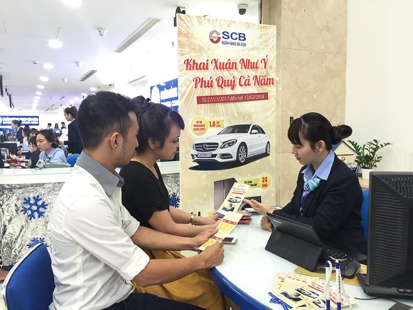 Hơn 265.000 lượt khách hàng trúng thưởng ngay khi gửi tiền tại SCB