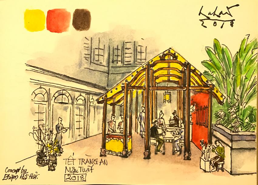 Đón tết về nhà qua phiên chợ Hà thành tại Metropole Hà Nội