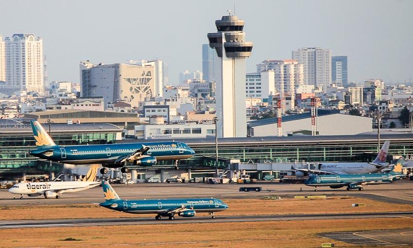 Sân bay Tân Sơn Nhất tổ chức thêm 18 điểm đỗ mới dịp tết