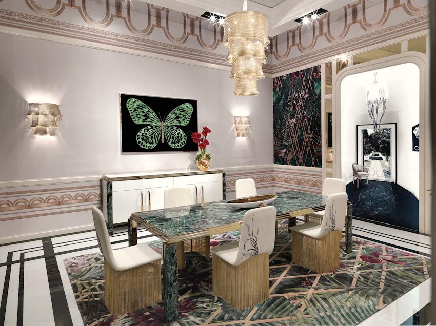 Không gian trưng bày mới của thương hiệu nội thất Ý Visionnaire tại TP.HCM