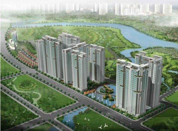 Dư án Dragon City tại khu Nam Sài Gòn