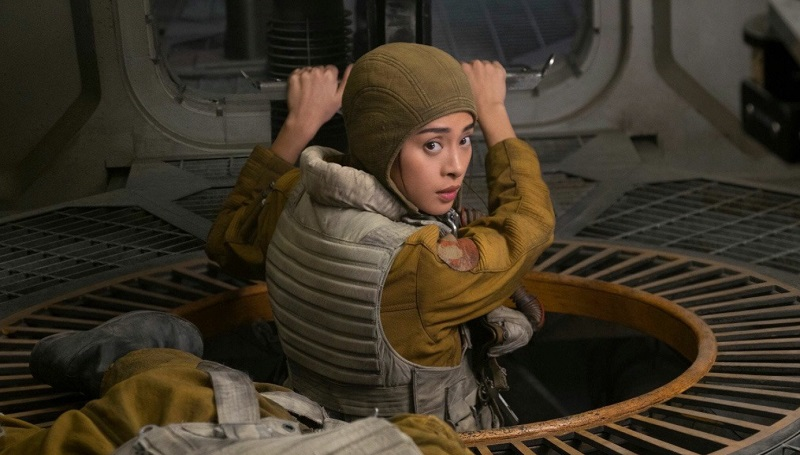 "Vai Paige Tico trong bom tấn ""Star Wars: The Last Jedi"" (2017)"