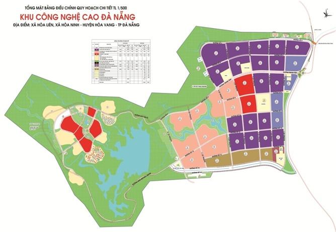 Quy hoạch Khu công nghệ cao Đà Nẵng