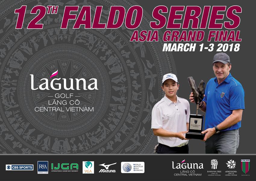 Vòng chung kết giải golf Faldo Series Châu Á lần thứ 12