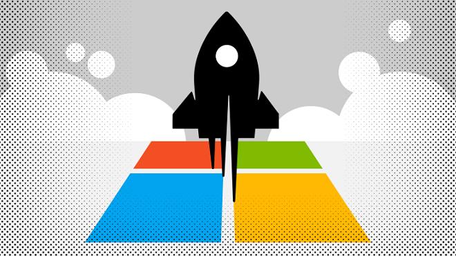 Microsoft cùng các ông lớn trong làng công nghệ cạnh tranh ở cả việc thu hút và hỗ trợ cho các công ty khởi nghiệp.