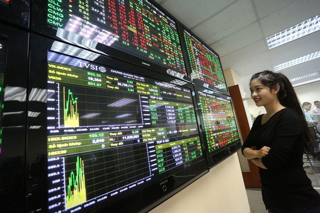 Sắc xanh tràn ngập, thị trường tăng vọt