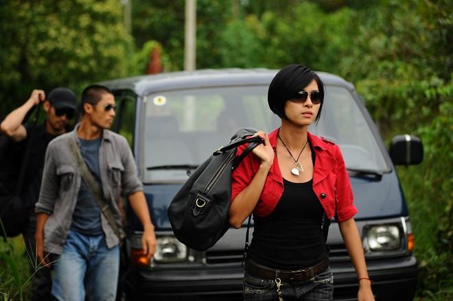 """Ngô Thanh Vân vai Phượng Hoàng trong """"Bẫy rồng"""" (2009)"""