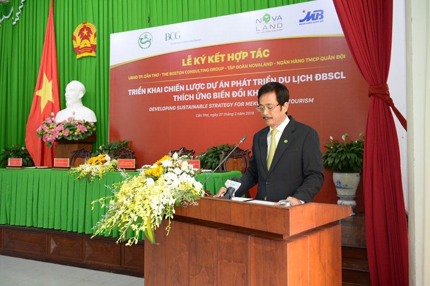Novaland hợp tác triển khai dự án phát triển du lịch Đồng Bằng Sông Cửu Long thích ứng biến đổi khí hậu