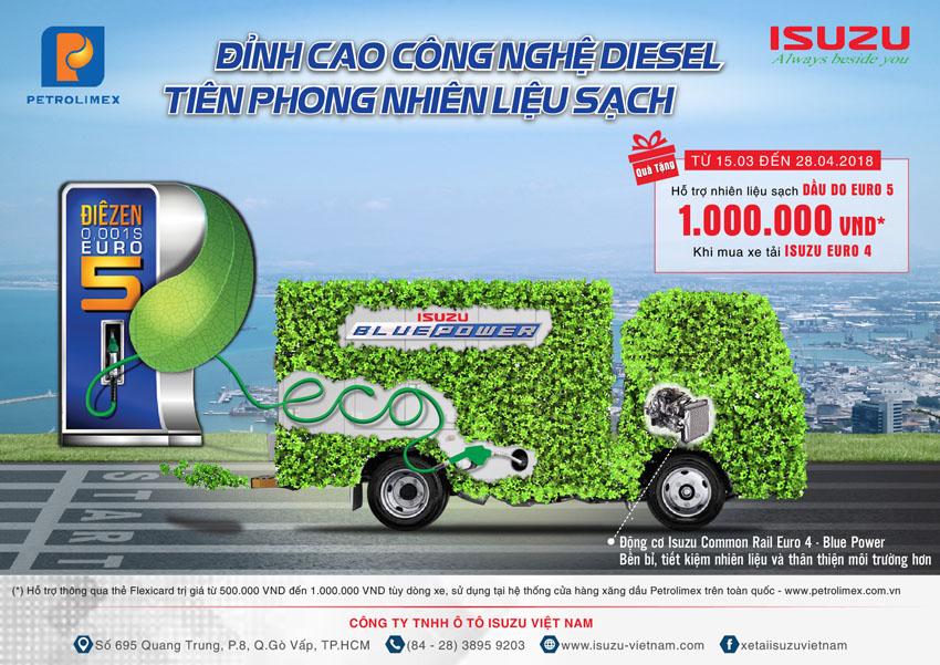 Isuzu và Petrolimex hợp tác phát triển công nghệ nhiên liệu sạch