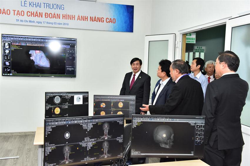 Khai trương trung tâm đào tạo chuẩn đoán hình ảnh nâng cao trường Đại học Y khoa Phạm Ngọc Thạch