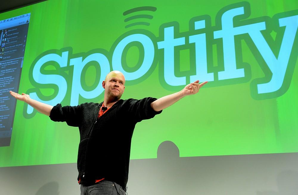 Startup dịch vụ âm nhạc trực tuyến Spotify