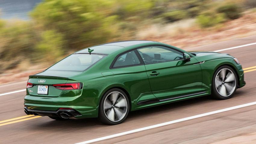 Audi RS5 2018 có giá chính thức từ 69.900 USD tại thị trường Mỹ