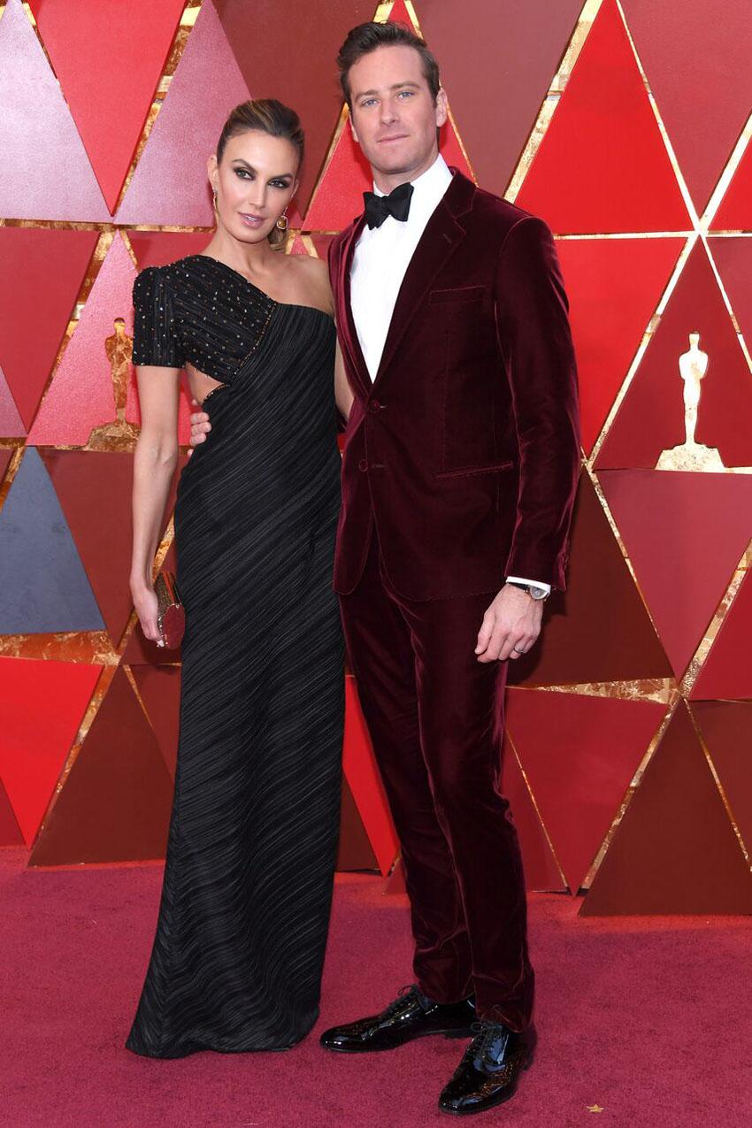 Nhà mốt Giorgio Armani làm khuynh đảo thảm đỏ lễ trao giải Oscar lần thứ 90