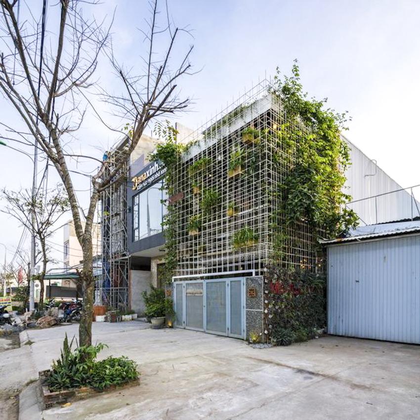 Phong House – ngôi nhà cải tạo từ một nhà máy cũ