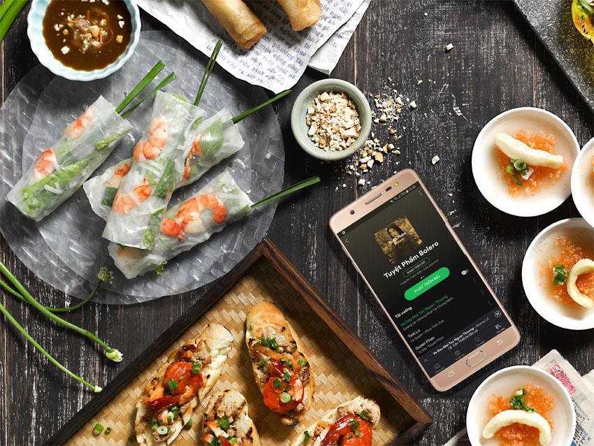 Ứng dụng nghe nhạc Spotify đã có mặt tại VN