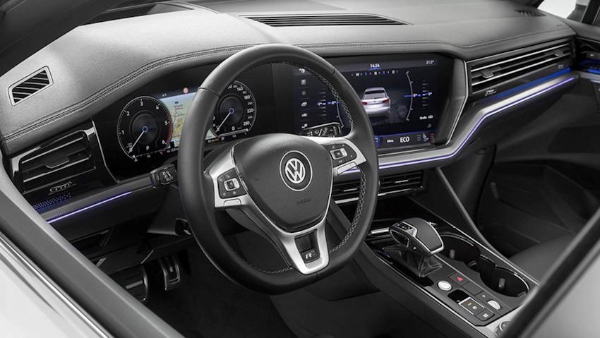 Volkswagen Touareg 2019 ra mắt: ngoại thất sang trọng, trang bị nội thất hiện đại