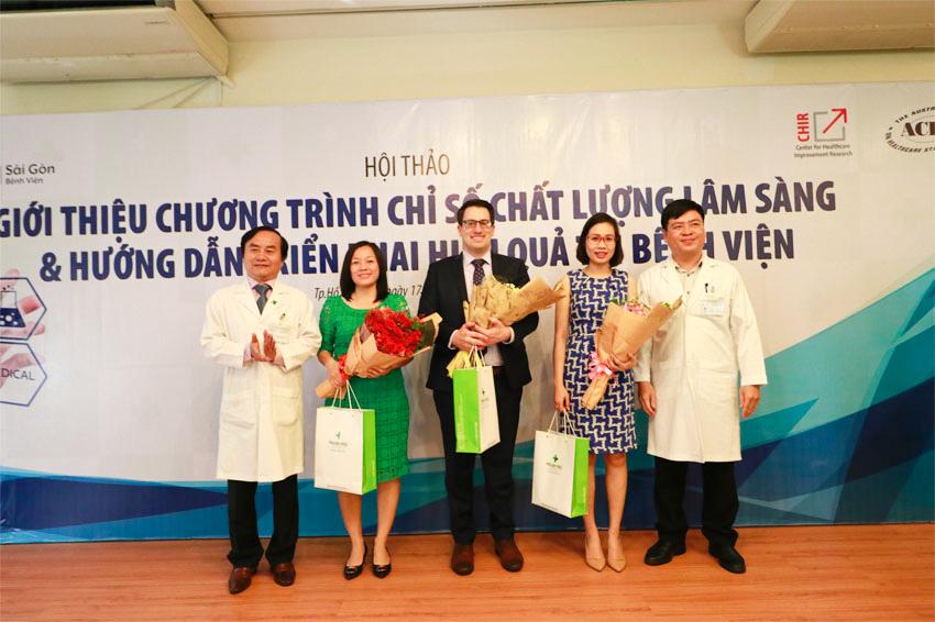 Hoàn Mỹ Sài Gòn tổ chức hội thảo về chỉ số chất lượng lâm sàng và hướng dẫn triển khai thực hiện