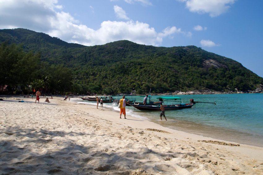 Bãi biển Bottle, thuộc đảo Koh Phangan, Thái Lan