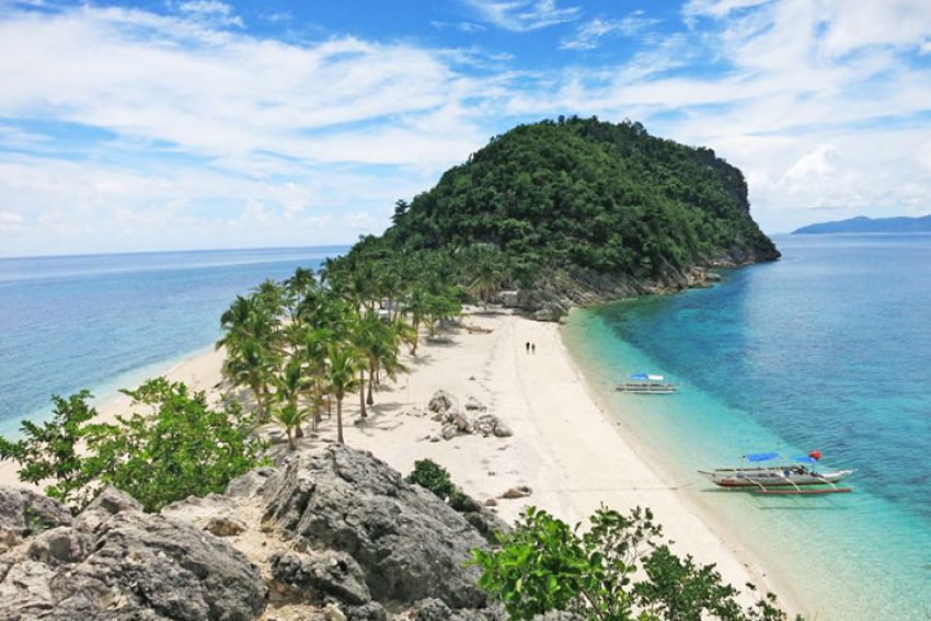 Bãi biển của Isla de Gigantes, Carles, Philippines