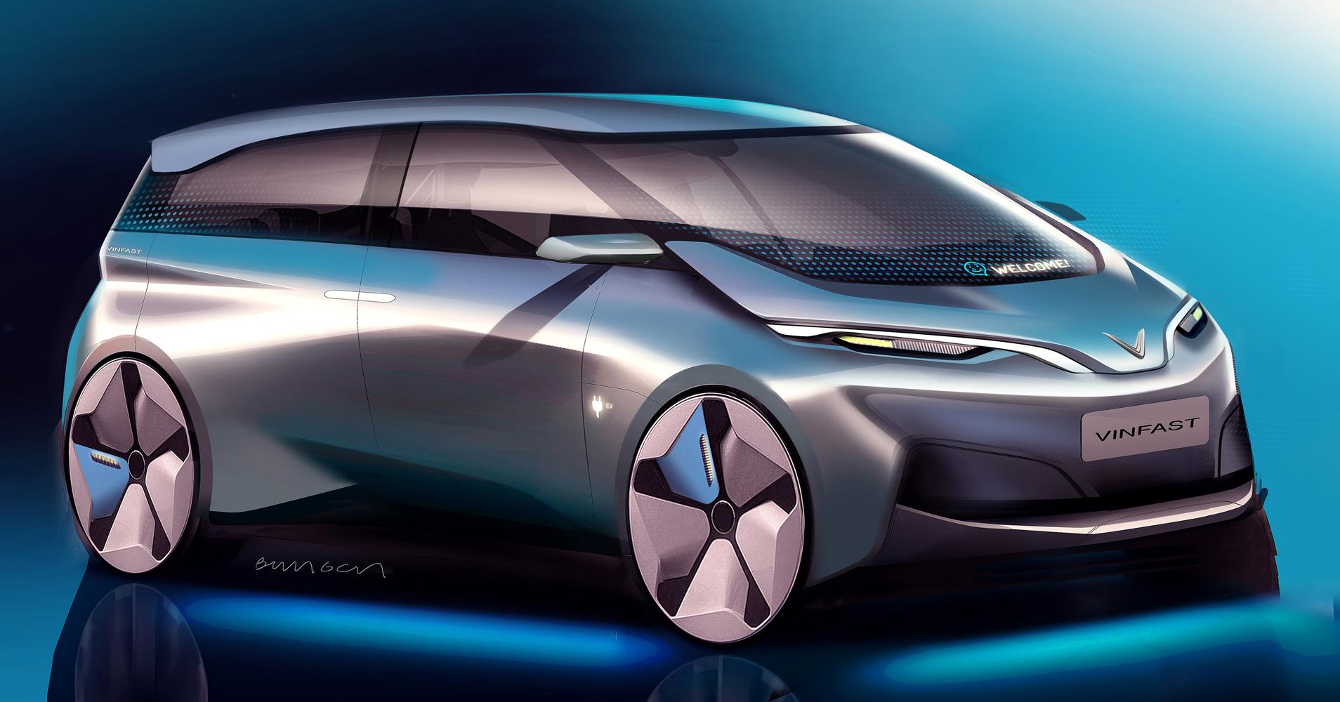 Thiết kế ôtô điện của Pininfarina.