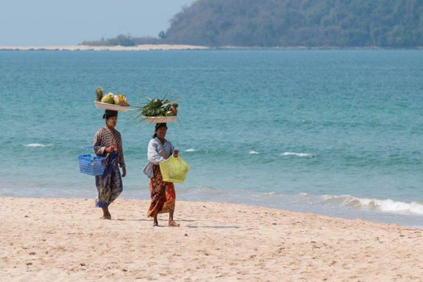 Bãi biển Ngapali, Thandwe, Myanmar