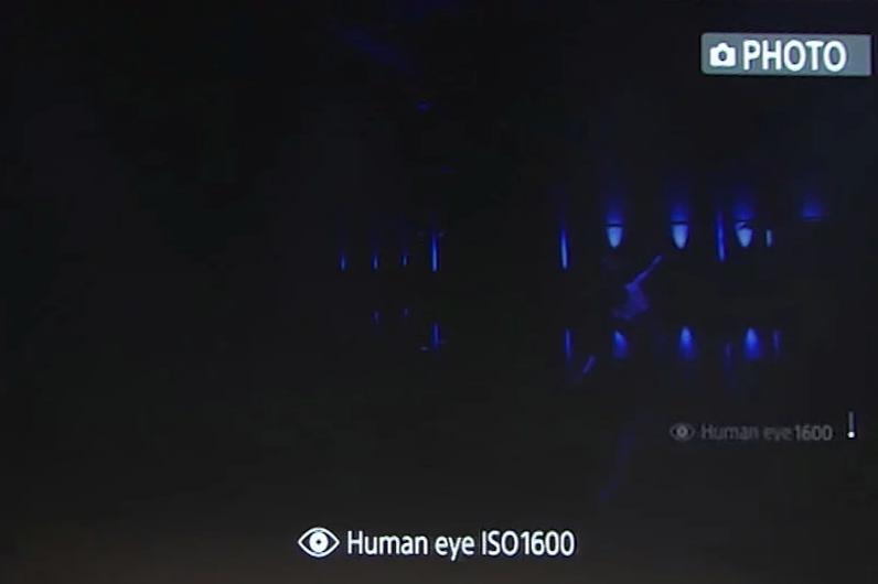 ISO 1600 dưới góc nhìn của mắt người