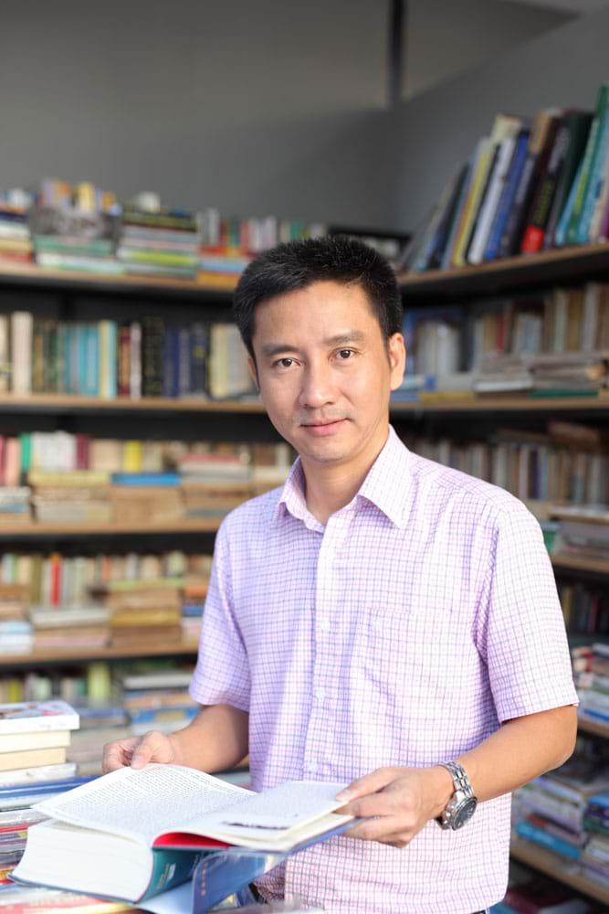 Nguyễn Anh Tuấn, người sáng lập Tủ sách Nhân Ái