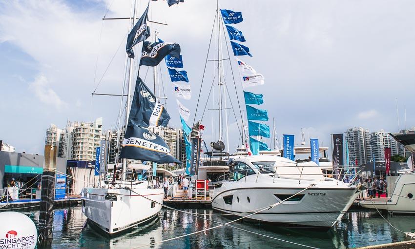 Tam Sơn Yachting tham gia triển lãm du thuyền lớn nhất Châu Á tại Singapore