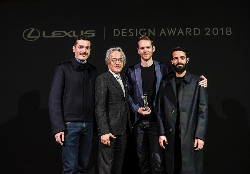 Công bố tác phẩm đoạt giải nhất chung cuộc Giải thưởng thiết kế Lexus 2018