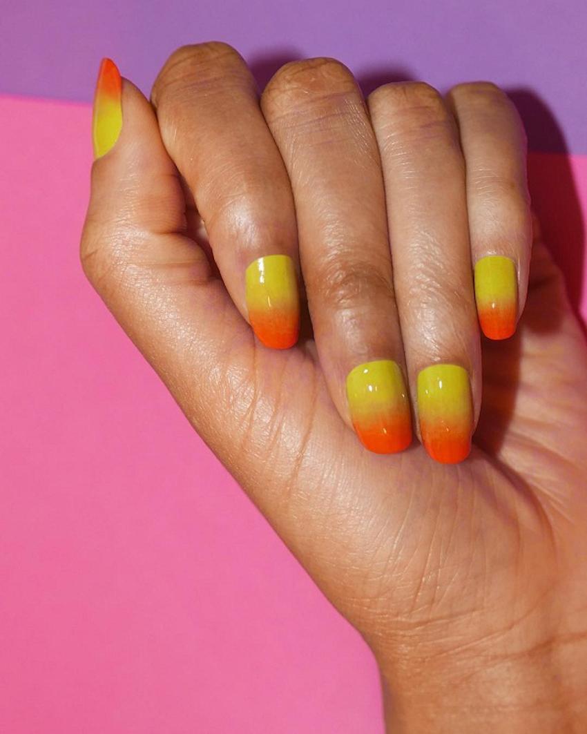 Mẫu nail cá tính cho cô nàng yêu thích phong cách nổi bật mùa hè 2018