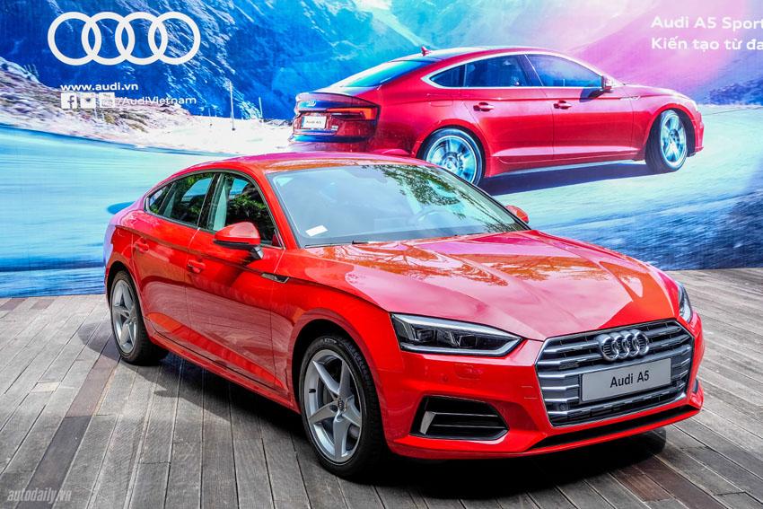 Audi Việt Nam triệu hồi 89 xe Audi A4 và A5 Sportback